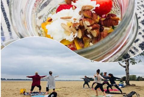 Strand en yoga web